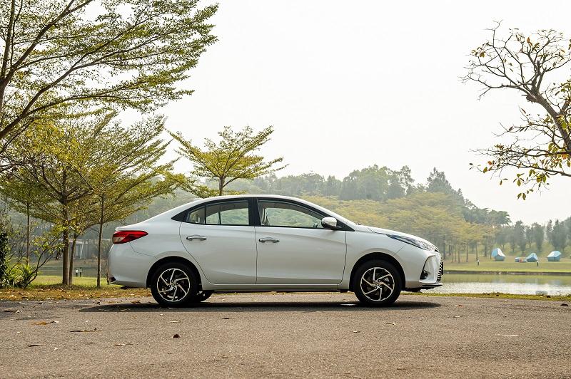 Toyota Vios White 5