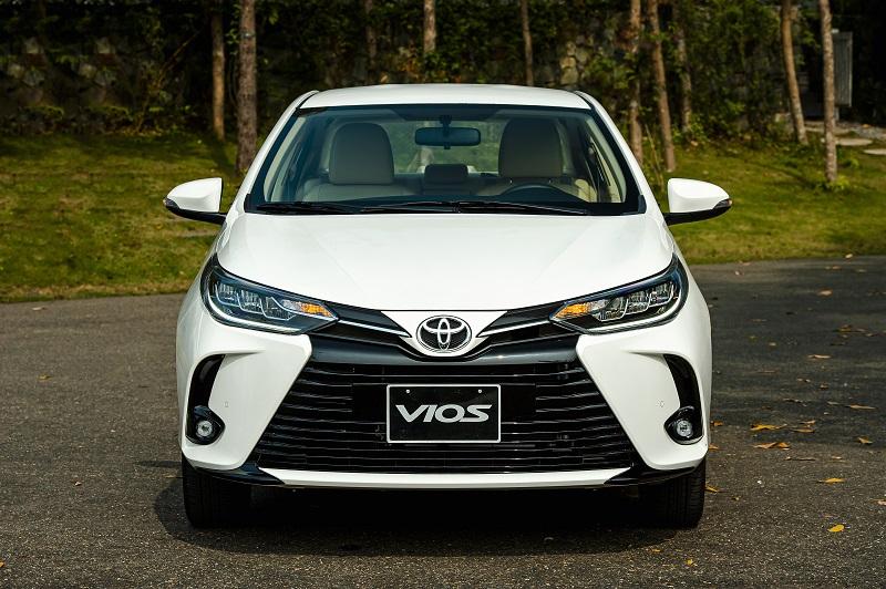 Toyota Vios White 9