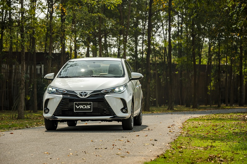 Toyota Vios White A 6